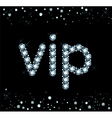 Diamond Vip Sign vector image