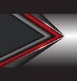 ed black speed direction on silver with dark grey vector image vector image