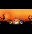festival halloween background vector image