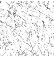 grunge seamless repeating pattern black on white vector image vector image