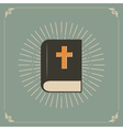 holly bible vector image vector image