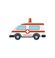 medical ambulance car isolated vector image vector image