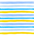 pattern with blue and yellow lines vector image