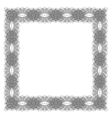 Retro Square Frame vector image