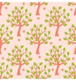 Seamless pattern with summer trees vector image vector image