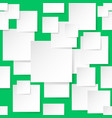 seamless texture square on green background vector image vector image