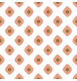 seamless texture with geometric pastel blush vector image vector image