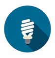 symbol of energy saving lamp vector image