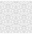 Two tone decorative pattern vector image vector image