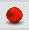 realistic ball vector image