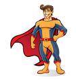 Tuft Superhero vector image