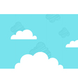 Background the sky vector image vector image
