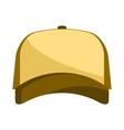 baseball cap vector image vector image