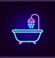 bath neon sign