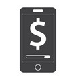 mobile banking concept vector image vector image