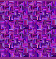 purple abstract seamless striped square pattern vector image vector image