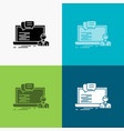 training course online computer chat icon over vector image vector image