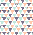 US Top Colors Background Triangle Polygon vector image vector image