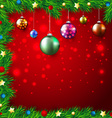 Christmas Colorful Background vector image