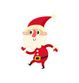 cute santa claus cartoon vector image