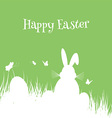 easter bunny background 2502 vector image vector image