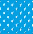 grape branch pattern seamless blue vector image