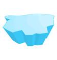 ice floe symbol icon design vector image