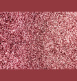 rose gold sparkly pink glitter background vector image