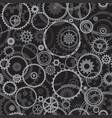 seamless cogwheels vector image