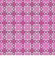 Seamless wallpaper purple geometric repetitive vector image vector image