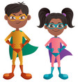 super kids indian vector image vector image