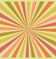 abstract summer burst sunburst rays in shades vector image vector image