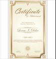 certificate 04 vector image vector image