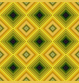colorful repeating diagonal square mosaic tile vector image vector image