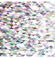geometrical abstract triangle mosaic background vector image vector image
