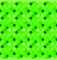 green seamless dot pattern background - abstract vector image vector image