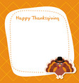 happy thanksgiving poster happy thanksgiving vector image vector image