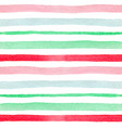 pattern with green and red lines vector image vector image