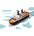 ships boats isometric image vector image vector image