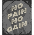 Gym and workout poster design vector image