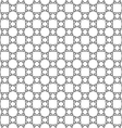 Abstract delicate seamless pattern in ethnic style vector image vector image