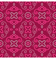 Abstract seamless pattern with vintage pink vector image vector image