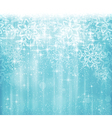 blue white christmas winter design vector image vector image