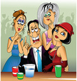Cartoon mafia vector image vector image