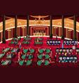 casino scene vector image