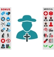 Cleric Icon vector image