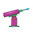 Harpoon for fishing icon cartoon style vector image vector image