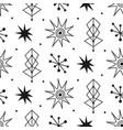 mid century modern seamless pattern vector image vector image