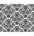Seamless floral polish pattern - ethnic background vector image vector image