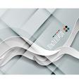 3d paper wave lines design
